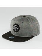 Djinns Snapback Caps Spots Duplex grå