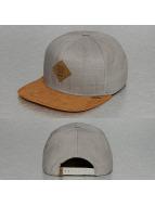 Djinns Snapback Caps Linen harmaa