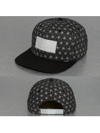 Djinns Snapback Caps Non Paris 6 Panel musta