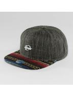 Djinns Snapback Caps Indoalot 6 Panel musta