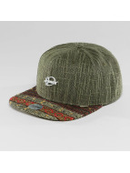 Djinns Snapback Caps Indoalot 6 Panel oliven