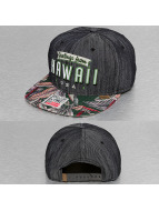 Djinns Snapback Caps Denim Aloha 6 Panel svart