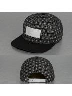 Djinns Snapback Caps Non Paris 6 Panel svart
