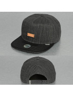 Djinns Snapback Caps 5P Indo Lin svart