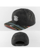 Djinns Snapback Caps Indo Spots 6 Panel svart