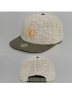 Djinns Snapbackkeps Left Sports 6 Panel oliv