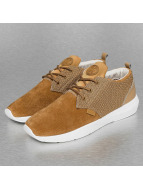 Djinns sneaker Lau Run Mesh & Skin beige