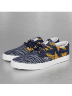Djinns Sneaker Crazy Pattern blau