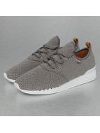 Djinns Sneaker Moc Lau Mini Padded grau
