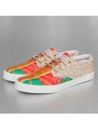 Djinns Sneaker Crazy Pattern rot