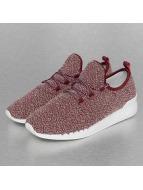 Djinns Sneaker Moc Lau Squeeze IV rot