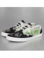 Djinns Sneaker Crazy Pattern schwarz