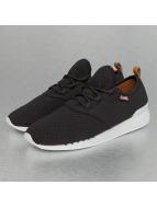 Djinns Sneaker Moc Lau Mini Padded schwarz