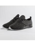 Djinns Sneaker Moc Lau schwarz