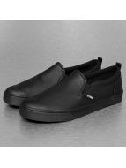 Djinns sneaker Leather Slider zwart