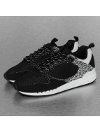 Djinns sneaker Easy Run Gator Knit zwart