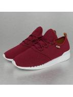 Djinns Sneakers Moc Lau Mini Padded röd