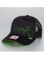 Djinns Trucker Cap Burned Spots High black