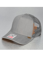 Djinns Trucker Cap Linen 2014 High Fitted grau