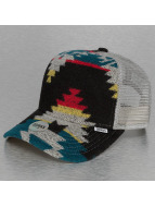 Djinns Trucker Cap Aztec Felt High Fitted gray