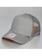 Djinns Trucker Cap Linen 2014 High Fitted grigio