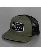 Djinns trucker cap Old School olijfgroen