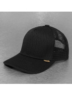 Djinns Trucker Cap Fishburn High Fitted schwarz