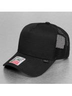 Djinns Trucker Cap Rib-Stop High schwarz