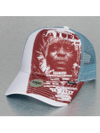 Djinns trucker cap IOI Saturn wit