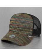 Djinns trucker cap Mesh Rainbow High zwart