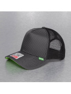 Djinns trucker cap Needlecheck II High zwart