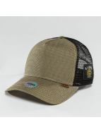 Djinns Trucker Caps Camo Snake bezowy