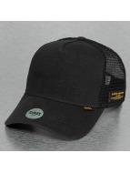 Djinns Trucker Caps Hemp czarny