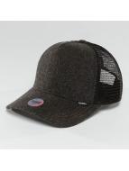 Djinns Trucker Caps Flannel czarny