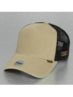 Djinns Trucker Caps Hemp khaki