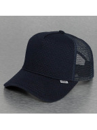 Djinns Trucker Caps Mini Padded High Fitted niebieski