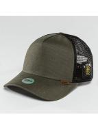 Djinns Trucker Caps Camo Snake oliwkowy