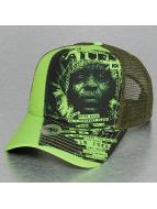 Djinns Trucker Caps IOI Saturn zielony