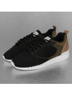 Djinns Easy Run Gator Knit Sneakers Black/Sand