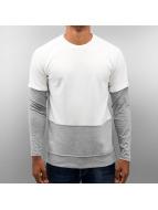 DreamTeam Clothing Pullover Mae Raglan blanc