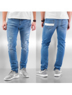 DreamTeam Clothing Skinny Jeans Sven blau