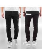 DreamTeam Clothing Skinny Jeans Sven schwarz