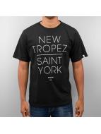 DreamTeam Clothing T-skjorter New Tropez Saint York svart