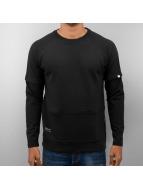 DreamTeam Clothing trui Mae Raglan zwart