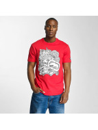Skullprint T-Shirt Red...