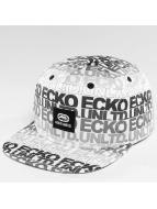 Ecko Unltd. TroudÀrgent Snapback Cap White/Black