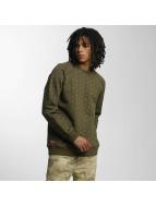 Ecko Unltd. Swetry Crew oliwkowy