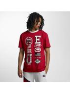Ecko Unltd. T-Shirt College Patches rouge