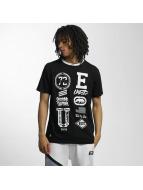 Ecko Unltd. T-Shirt College Patches schwarz