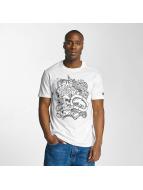 Ecko Unltd. T-shirt Skullprint vit